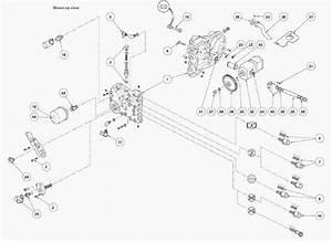 Massey Ferguson 5400  6200 Series Tractors Hydraulic