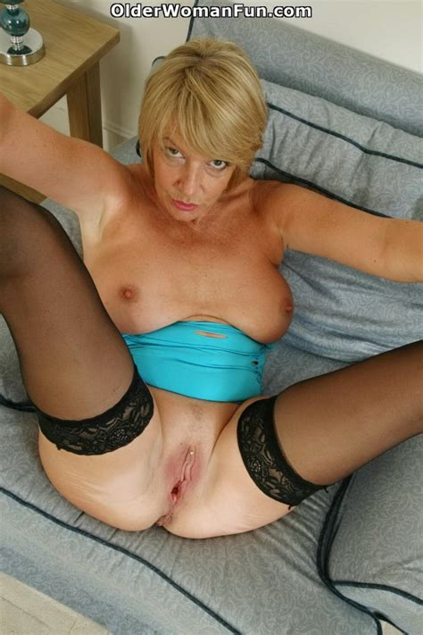 53 Year Old British Gilf Amy Fucks A Dildo Photo Album By