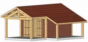 Garage Bois En Kit : charpente traditionnelle en kit maison ossature bois ~ Premium-room.com Idées de Décoration