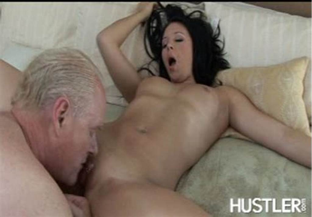#Old #Fart #Enjoys #Licking #Sweet #Tasty #Pussy #Of #Hot #Brunett