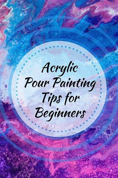 Acrylic Painting Beginners Pouring