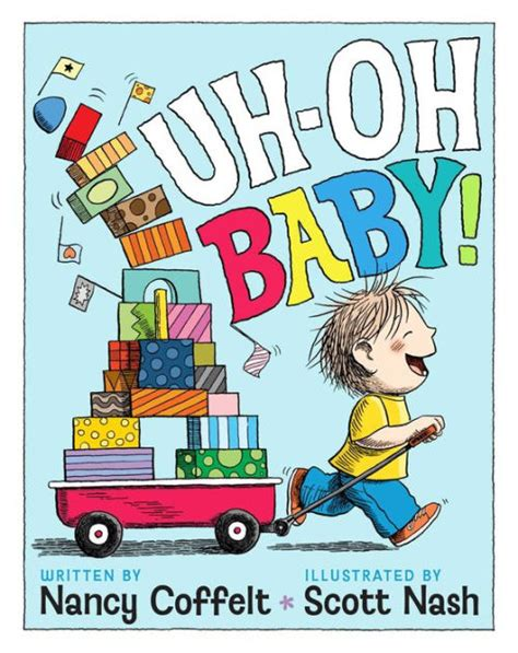 uh barnes and noble uh oh baby by nancy coffelt nash hardcover