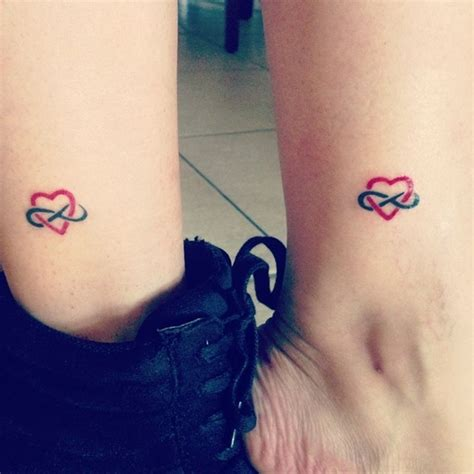 meaningful mother  daughter matching tattoos