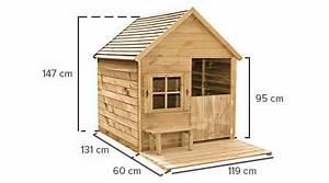 Cabane Pour Enfant Pas Cher : cabane enfant bois pas cher he di avec terrasse ~ Melissatoandfro.com Idées de Décoration