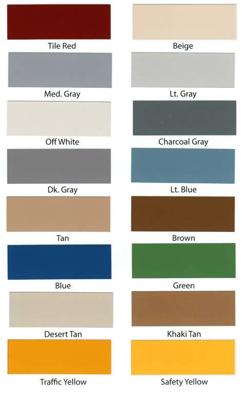 armour color codes heavy tonnage epoxy floor paint armorgarage