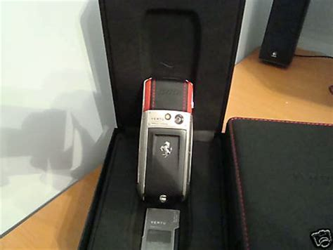 Vertu Phone Ebay by Ebay 7999 Vertu Ascent Ti Rosso Phone