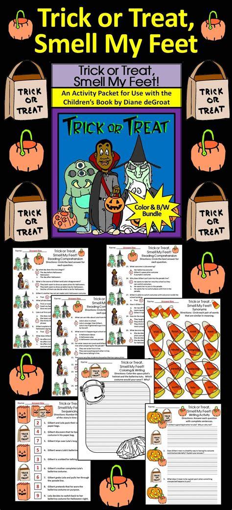 halloween reading activities trick  treat smell