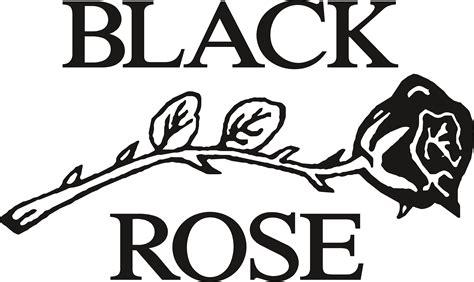 black rose leather logos
