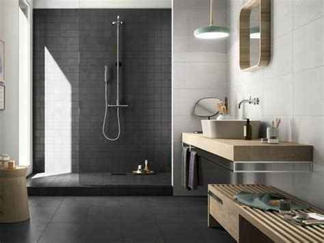 carrelage salle de bain gedimat le carrelage effet b 233 ton en 55 photos inspirantes archzine fr