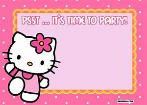 Hello Kitty Printable Invitation Wwwpixsharkcom