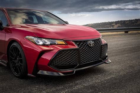 toyota camry trd  avalon trd  unexpectedly