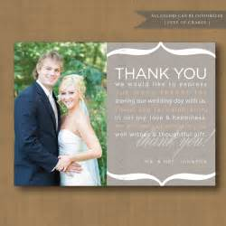 bridesmaid thank you cards thank you note wedding thank you card printable thank you wedding weddings