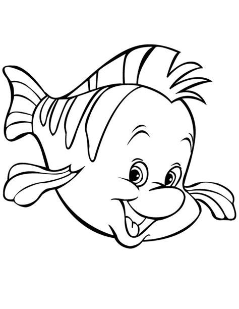 gambar mewarnai hewan ikan