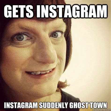 Scary Ghost Meme - scary instagram lady memes quickmeme