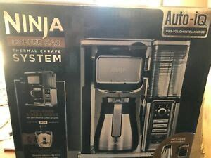 In this video we cover all the ups. Ninja CF097 10-Cup Coffee Bar System with Thermal Carafe - Black/Silver | eBay