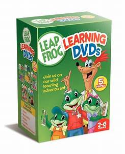 Leapfrog learning dvds 5 pack talking words factory for Leapfrog three letter words