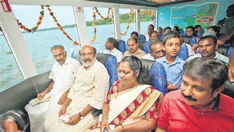 Boat Service From Vaikom by Vaikom Ernakulam Fort Kochi Ac Ferry Service Commissioned