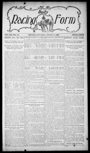 daily racing form n saturday august 31 1907 daily racing form free download borrow