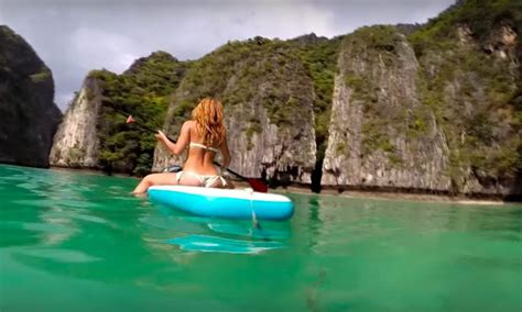 Beautiful Sup Journey to Phi-Phi-Le island Thailand ...