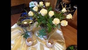 Youtube Deko Selber Machen : diy blumen werkstatt deko mit rosen kerzen deko selber machen gestalten youtube ~ Buech-reservation.com Haus und Dekorationen