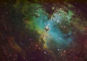 M16 Eagle Nebula - Pics about space
