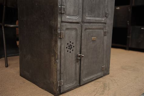 industrial storage cabinets with doors vintage iron boat six doors industrial cabinet circa 1910