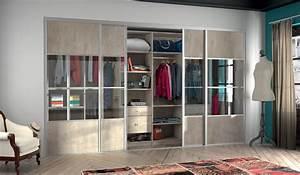 Dressing Avec Porte : dressing avec portes coulissantes ~ Premium-room.com Idées de Décoration