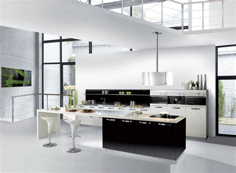 cuisine blanc stunning cuisine noir et blanc pictures design trends