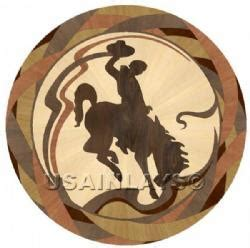 Inlays. Hardwood Floor Products: Cowboy, Medallions