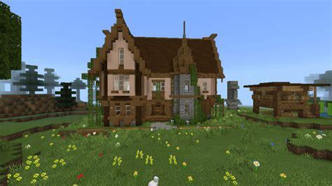 medievalmansion mapbuilding minecraft pe maps