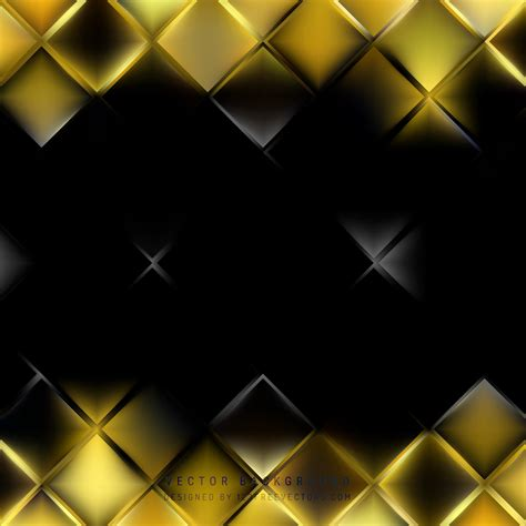 Abstract Black Background Design by Abstract Black Yellow Square Background Design