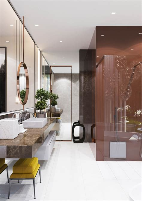 A Spacious Moscow Home That Exudes Luxury by A Spacious Moscow Home That Exudes Luxury Bathroom