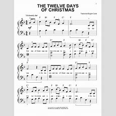The Twelve Days Of Christmas  Sheet Music Direct