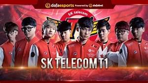 SK Telecom T1 The Kings Of League Of Legends Dafa Esports