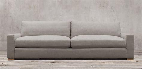 maxwell sofa knock off sofas restoration hardware