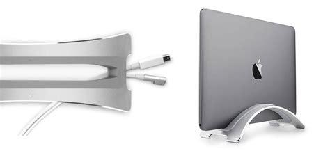 macbook bureau libérez de l 39 espace sur votre bureau avec ce support pour