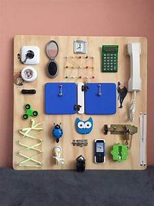 Montessori Spielzeug Baby : activity board busy board sensory board montessori educational toy f r kinder spielzeug ~ Orissabook.com Haus und Dekorationen