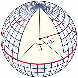 File Latitude And Longitude Graticule On A Sphere Svg
