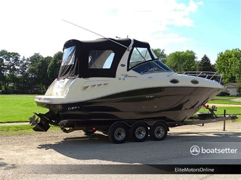 Sea Ray Boat Rental Chicago by Rent A 2006 28 Ft Sea Ray Boats 260 Sundancer In Chicago