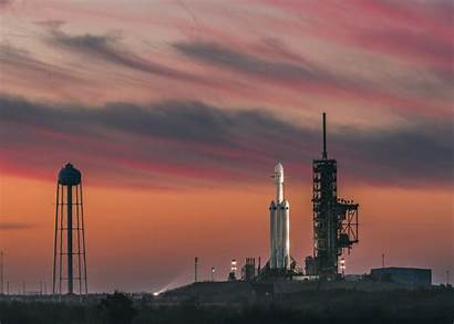 Spacex Launch Canaveral Cape Rocket Falcon Heavy