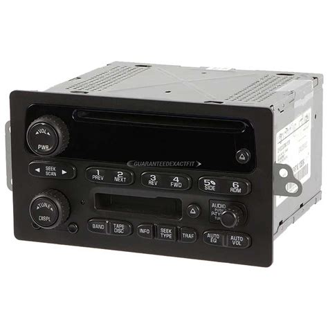 chevrolet silverado radio  cd player parts  car