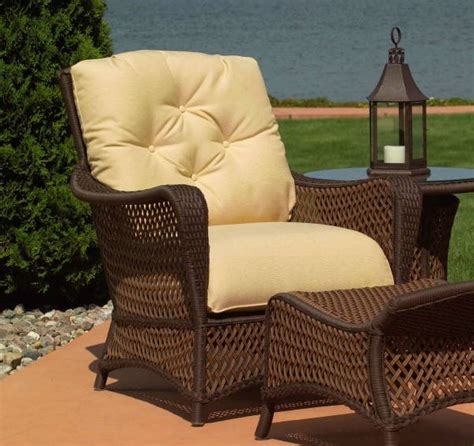 lloyd flanders patio furniture replacement cushions lloyd flanders grand traverse chair cushions