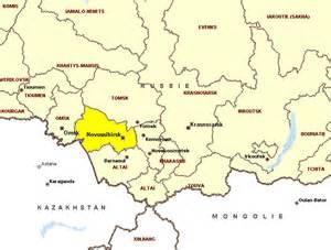 Novosibirsk Russia Map