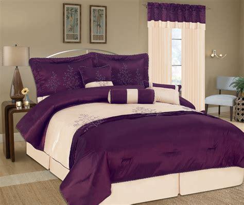 purple comforter sets king 7pcs king eastbourne purple bedding comforter set