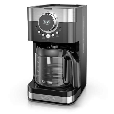 That said, did you know that walmart has a huge amount of coffee makers both in store, as well as online? BLACK+DECKER Select-A-Size Easy Dial Programmable Coffee Maker, Stainless Steel/Black, CM4200S ...