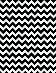 Black and White Chevron Wallpaper
