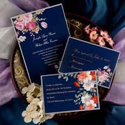 navy blue wedding invitations peony navy blue printable vintage wedding invitations ewi137 as low as 0 94