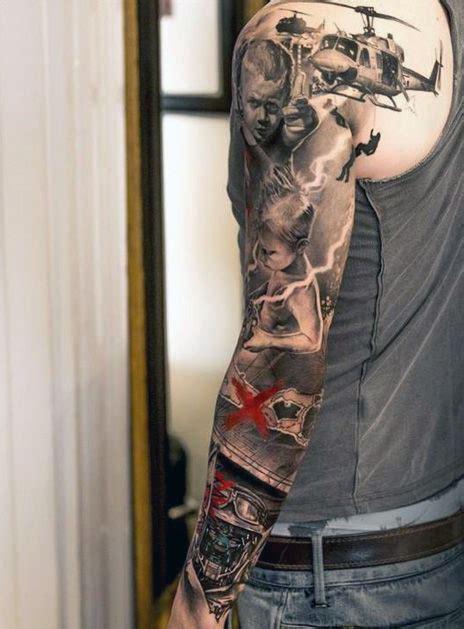 top   sleeve tattoos design mens craze