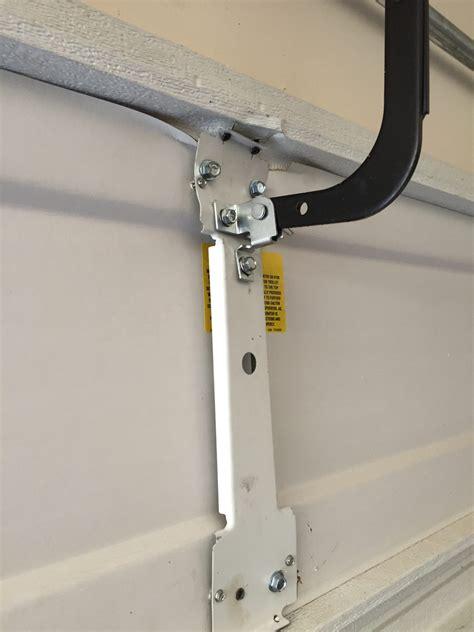 garage door operator bracket repair garage door opener repair liftmaster genie parts fix
