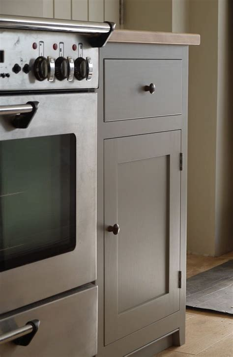 Painting Kitchen Cupboards Farrow And by Grey Kitchen With Wooden Worktop Units Painted Farrow And